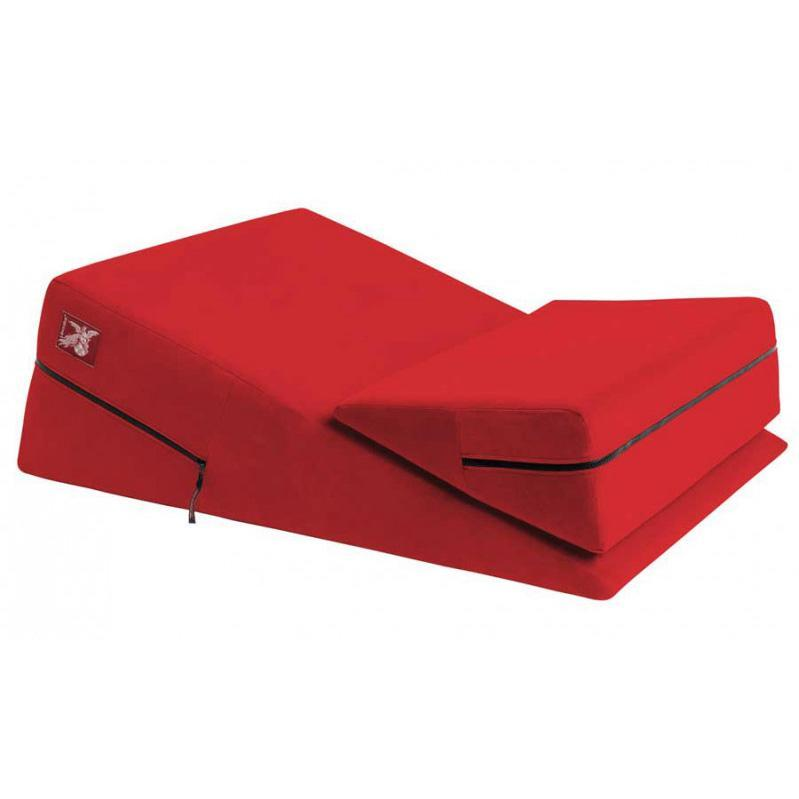 Liberator - Wedge/Ramp Combo Sex Furniture (Red) | CherryAffairs Singapore