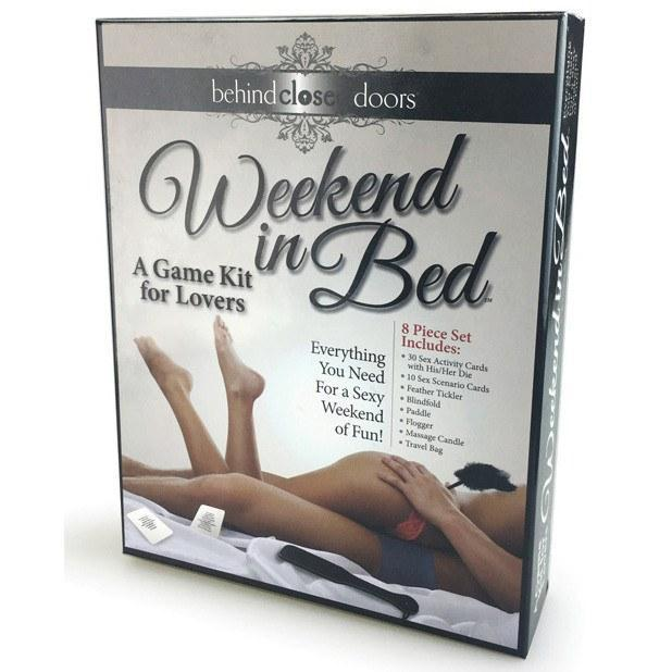 Little Genie - Weekend in Bed Game Kit (Black) Games - CherryAffairs Singapore