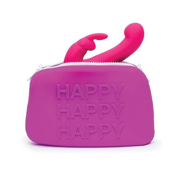Love Honey - Happy Rabbit WOW Storage Zip Bag Large (Purple) Storage Bag 5060020006531 CherryAffairs