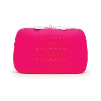 Love Honey - Happy Rabbit WOW Storage Zip Bag Small (Pink) Storage Bag 5060020006487 CherryAffairs