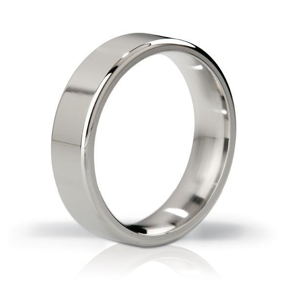Mystim - His Ringness The Duke Stainless Steel Cock Ring 48mm (Polished) | CherryAffairs Singapore
