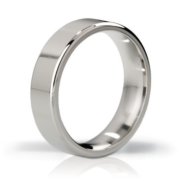 Mystim - His Ringness The Duke Stainless Steel Cock Ring 51mm (Polished) | CherryAffairs Singapore