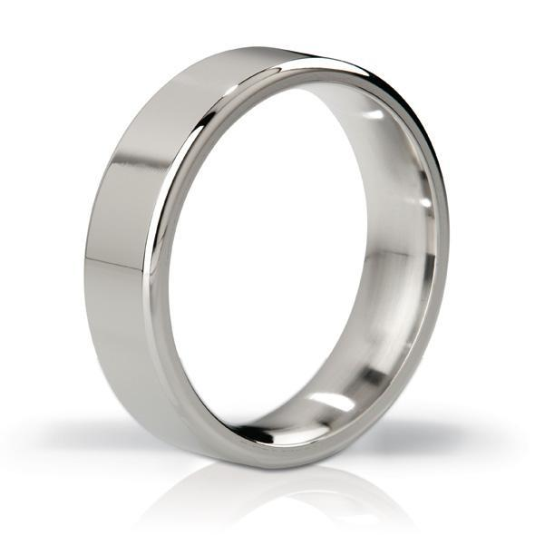 Mystim - His Ringness the Duke Stainless Steel Cock Ring 55mm (Polished) | CherryAffairs Singapore