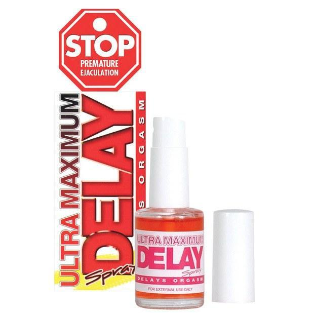 Nasstoys - Stop Ultra Maximum Delay Spray 1.5 oz (White) | CherryAffairs Singapore