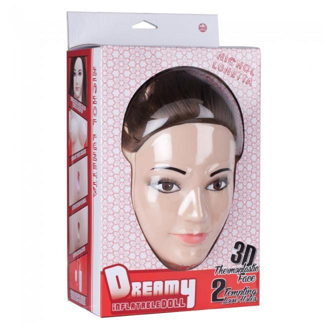 NMC - Nichol Lunetta Dreamy 3D Face Love Doll Doll Singapore