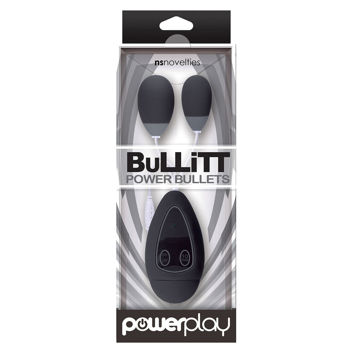 NS Novelties - Powerplay BuLLiTT Power Bullets Double Egg Vibrator (Black) | CherryAffairs Singapore
