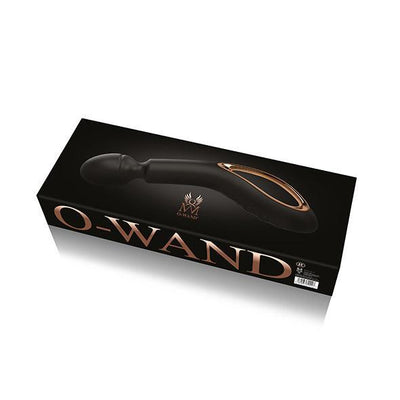O-wand - Rechargeable Wand Massager (Black) Wand Massagers (Vibration) Rechargeable Singapore