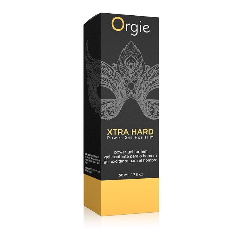 Orgie - Xtra Hard Power Delay Gel for Him 50ml | CherryAffairs Singapore