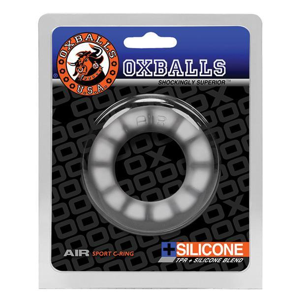 Oxballs - Air Sport Silicone Cock Ring (White) Silicone Cock Ring (Non Vibration) Singapore