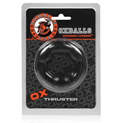 Oxballs - Thruster Rubber Cock Ring (Black) Rubber Cock Ring (Non Vibration) Singapore