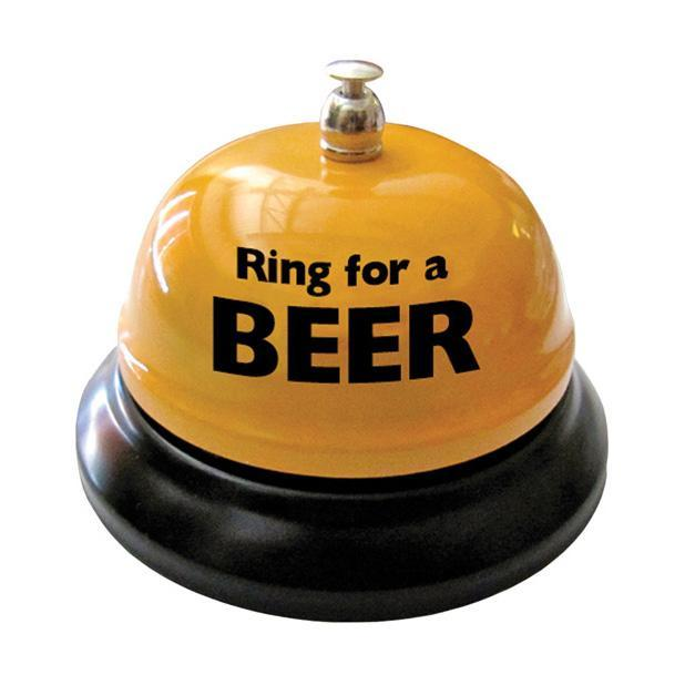Ozze Creations - Ring for a Beer Table Bell (Beige) | CherryAffairs Singapore
