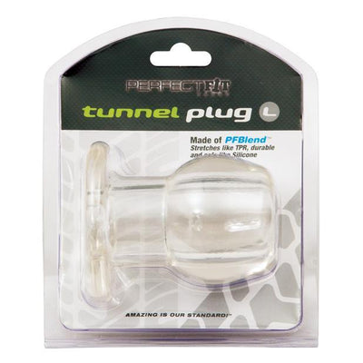 Perfect Fit - Large Tunnel Plug (Clear) | CherryAffairs Singapore