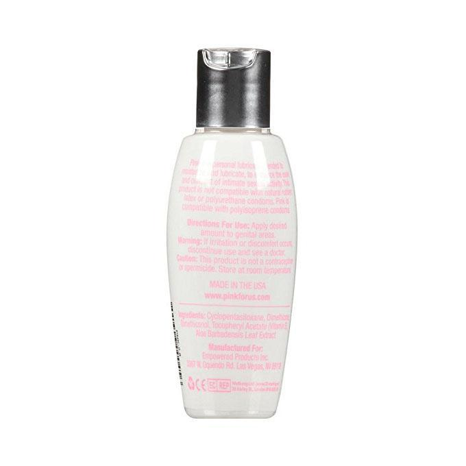 Pink - Silicone Lubricant for Women 80 ml Lube (Silicone Based) - CherryAffairs Singapore