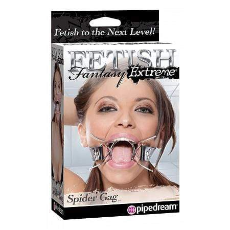 Pipedream - Fetish Fantasy Extreme Spider Gag (Black) Ball Gag 4019514306603 CherryAffairs