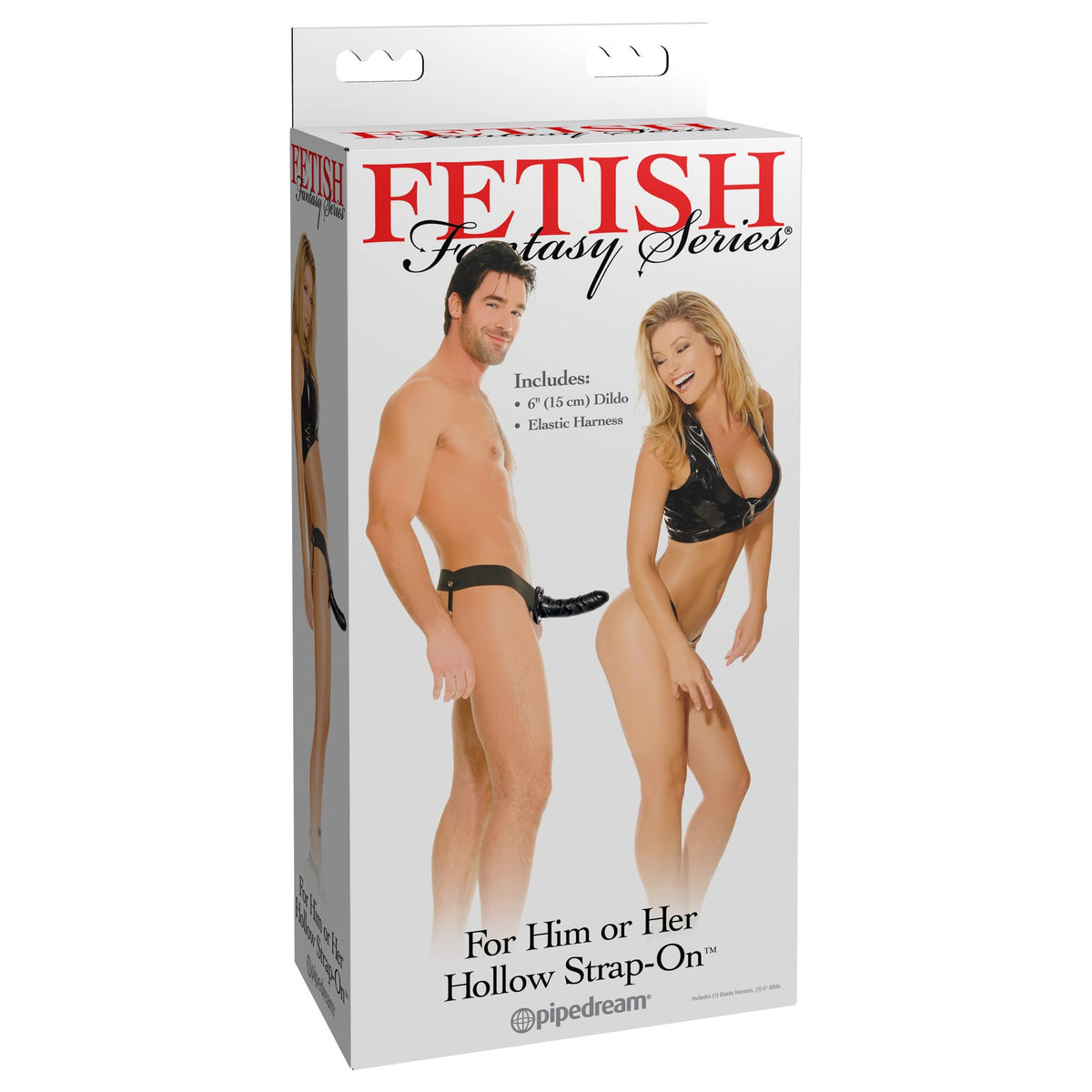 Pipedream - Fetish Fantasy Series Hollow Strap-On (Black)