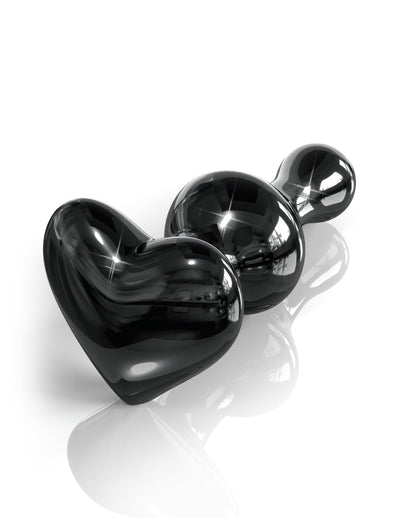 Pipedream - Icicles No 74 Hand Blown Massager (Black) | CherryAffairs Singapore