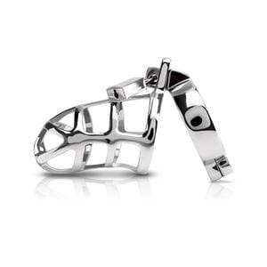 Pipedream - Metal Worx Cock Cage (Silver) Metal Cock Cage (Non Vibration) 603912309409 CherryAffairs