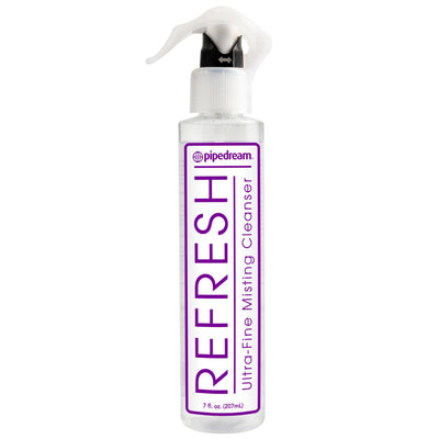 Pipedream - Refresh Ultra-Fine Misting Cleanser 7oz (Clear) Toy Cleaners Singapore