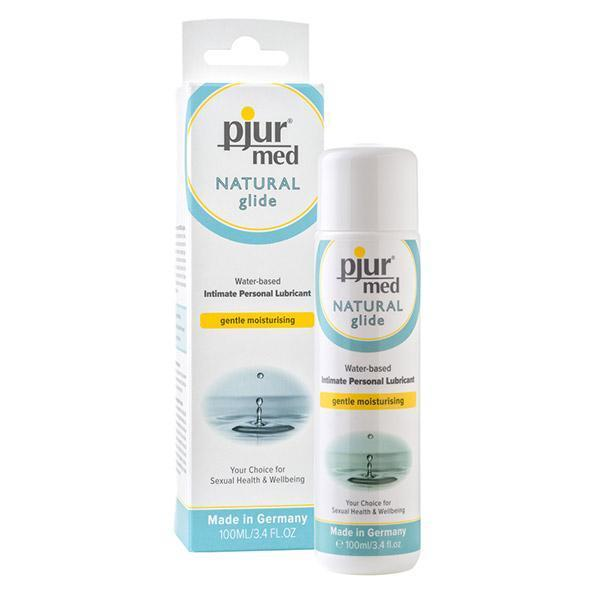 Pjur - Med Natural Glide Gentle Moisturing Water Based Lubricant 100 ml Lube (Water Based)
