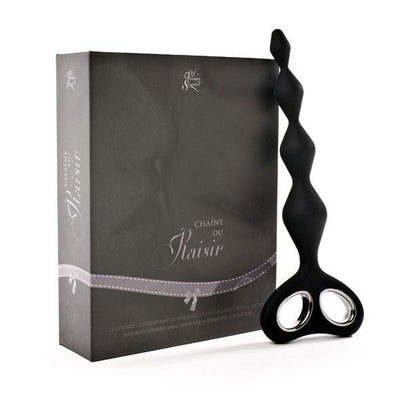 Plaisirs Secrets - Anal Chain (Black) Anal Beads (Non Vibration) Singapore