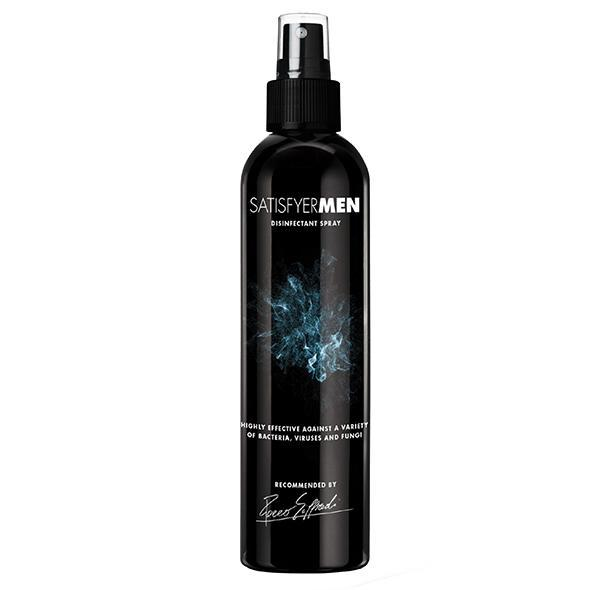 Satisfyer - Men Disinfectant Spray 300ml (Black) Toy Cleaners Singapore