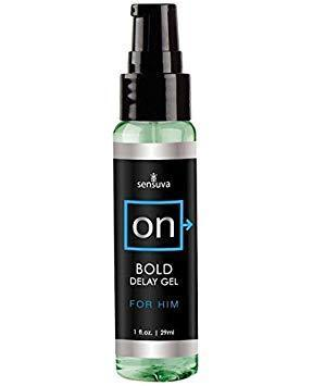 Sensuva - ON Bold Delay Gel For Him 29 ml Delayer Singapore