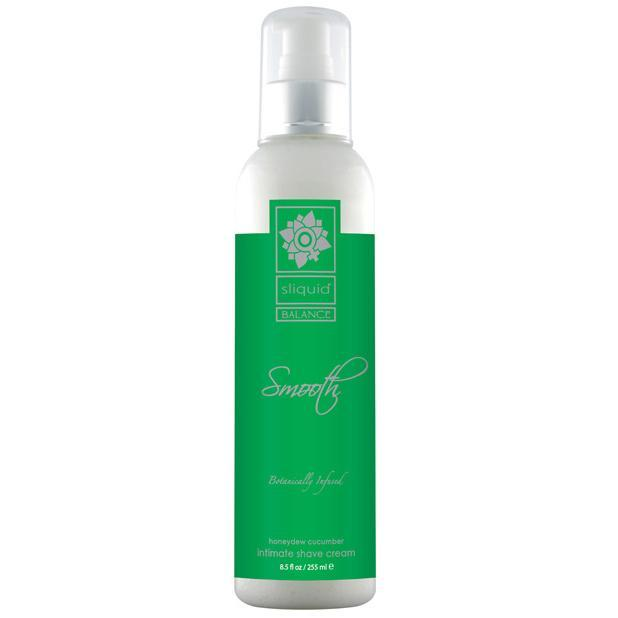 Sliquid - Balance Smooth Intimate Shave Cream 8.5 oz Honeydew Cucumber (Green) Shaving Cream Singapore