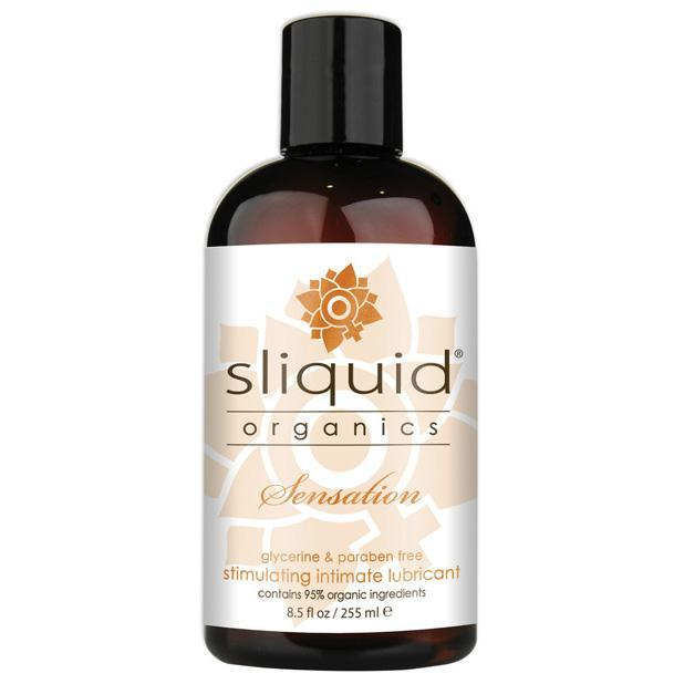 Sliquid - Organics Sensation Stimulating Intimate Lubricant 8.5 oz Lube (Water Based) Singapore