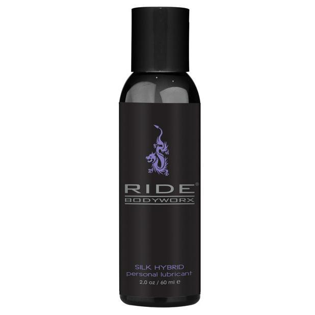 Sliquid - Ride BodyWorx Silk Hybrid Lubricant 2 oz (Black) Lube (Silicone Based) Singapore