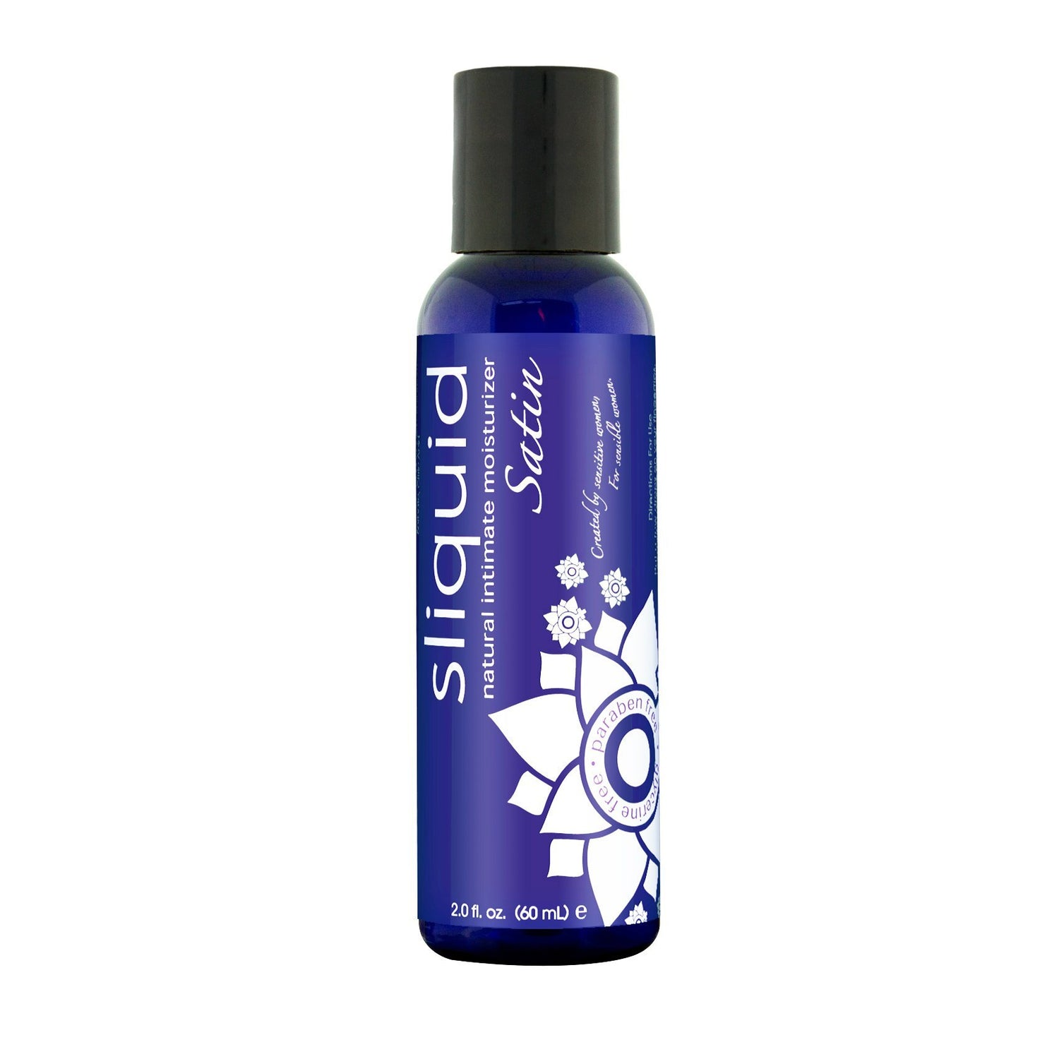 Sliquid - Satin Naturals Moisturizer Bottle 2 oz (Lube) Lube (Water Based) - CherryAffairs Singapore