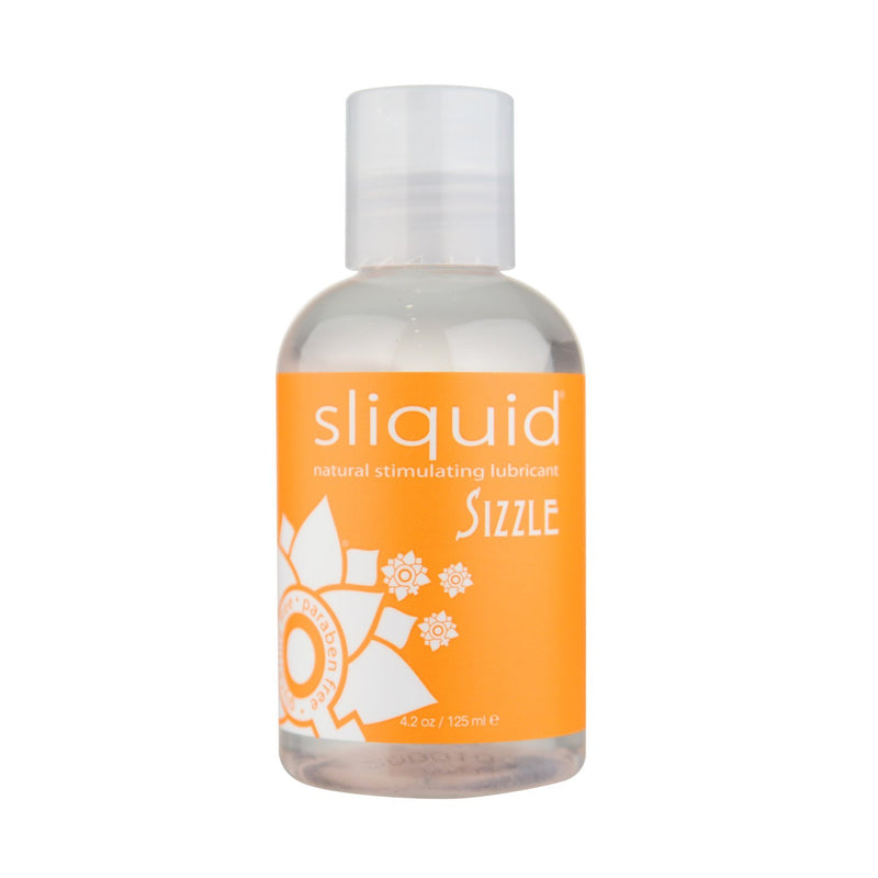 Sliquid - Sizzle Warming Lubricant Bottle 4.2 oz Warming Lube - CherryAffairs Singapore