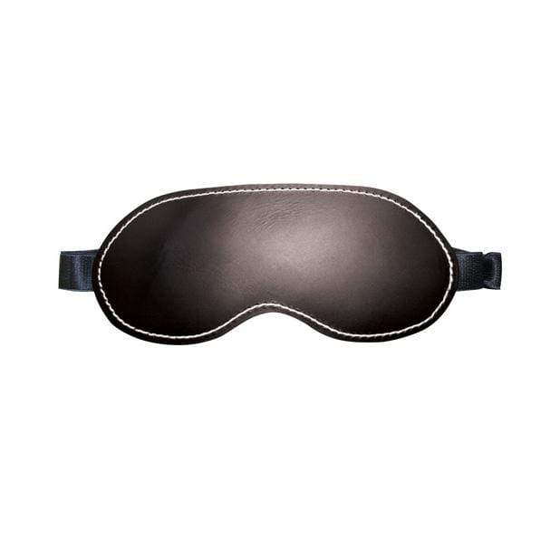 Sportsheets - Edge Leather Blindfold (Black) Mask (Blind) 646709980023 CherryAffairs