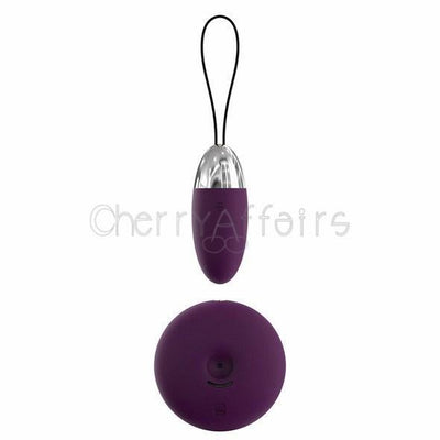 Svakom - Luna Selene Vibrating Bullet (Violet) Wireless Remote Control Egg (Vibration) Rechargeable - CherryAffairs Singapore