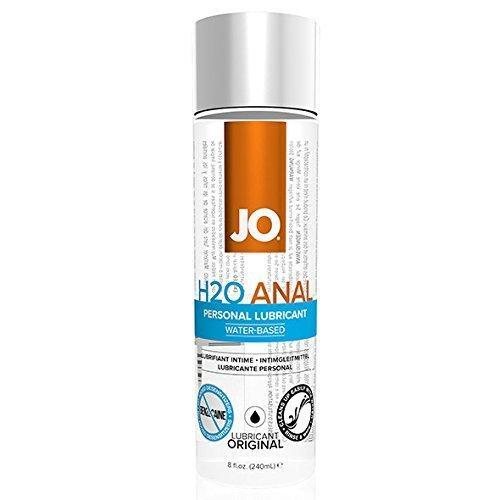 System JO - Anal H2O Lubricant 240 ml (Lube) Lube (Water Based) - CherryAffairs Singapore
