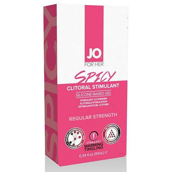 System Jo - For Her Spicy Clitoral Stimulant Arousal Gel 10ml Arousal Gel 796494401248 CherryAffairs