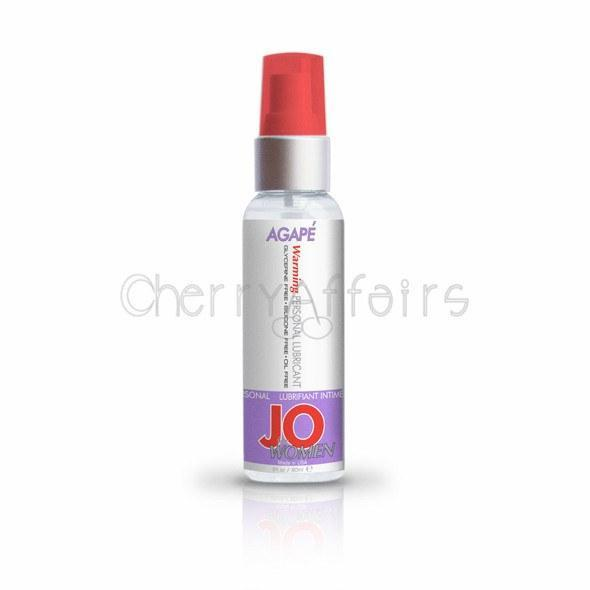 System JO - For Women Agape Lubricant 60 ml (Warming) Warming Lube - CherryAffairs Singapore