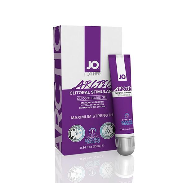 System JO - For Women Arctic Clitoral Stimulant Silicone Gel 10 ml Arousal Gel Singapore