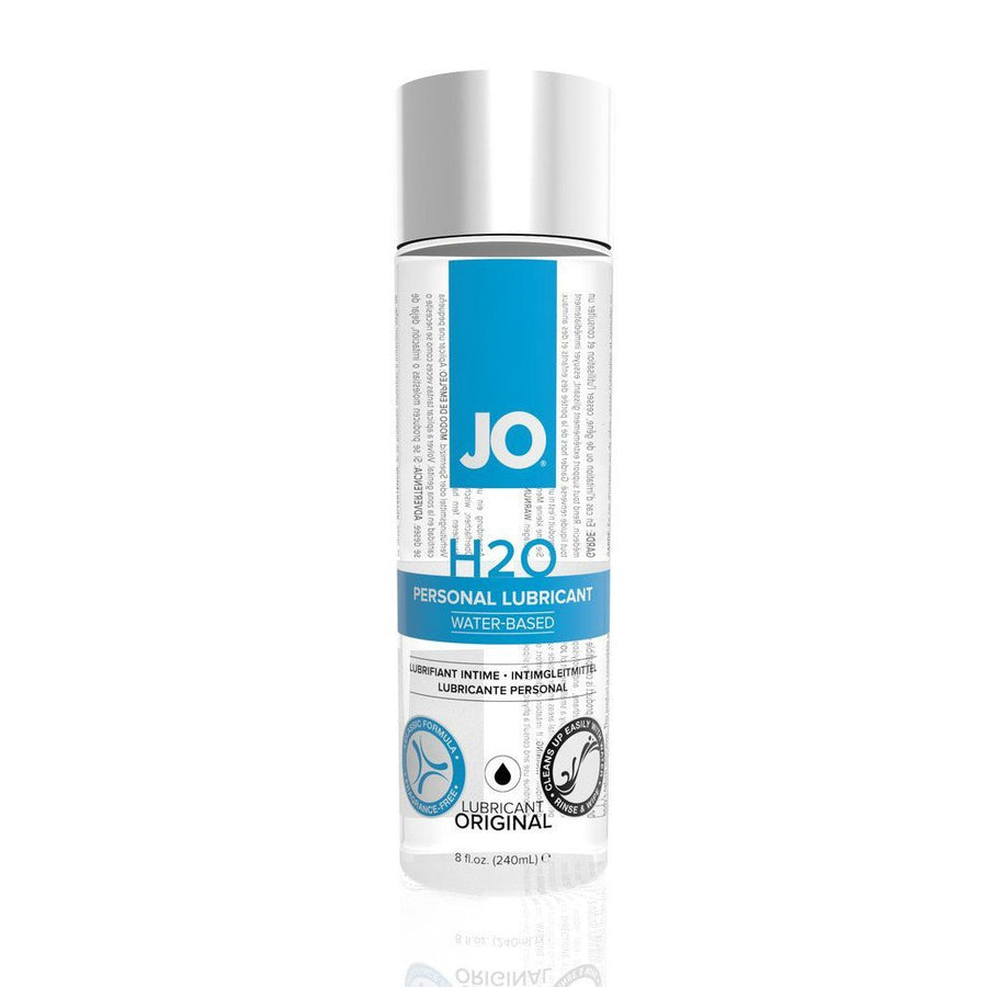 System JO - H2O Lubricant 240 ml (Lube) Lube (Water Based) - CherryAffairs Singapore