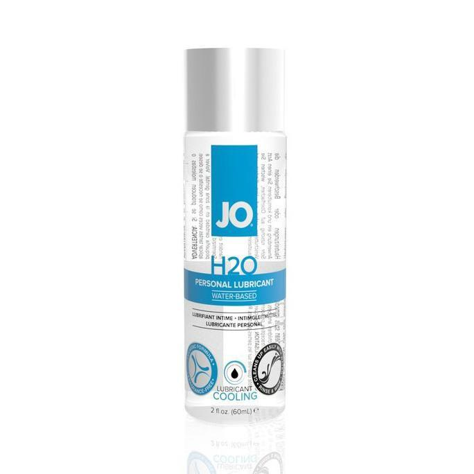 System JO - H2O Lubricant 60 ml (Cooling) Cooling Lube - CherryAffairs Singapore