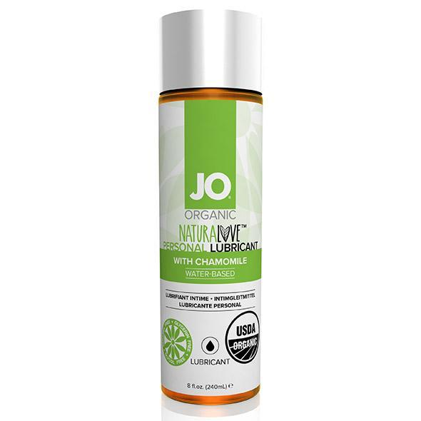 System JO - Organic Naturalove Lubricant 240 ml (Chamomile) Lube (Water Based) Singapore
