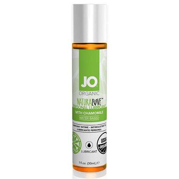 System JO - Organic Naturalove Lubricant 30 ml (Chamomile) Lube (Water Based) Singapore