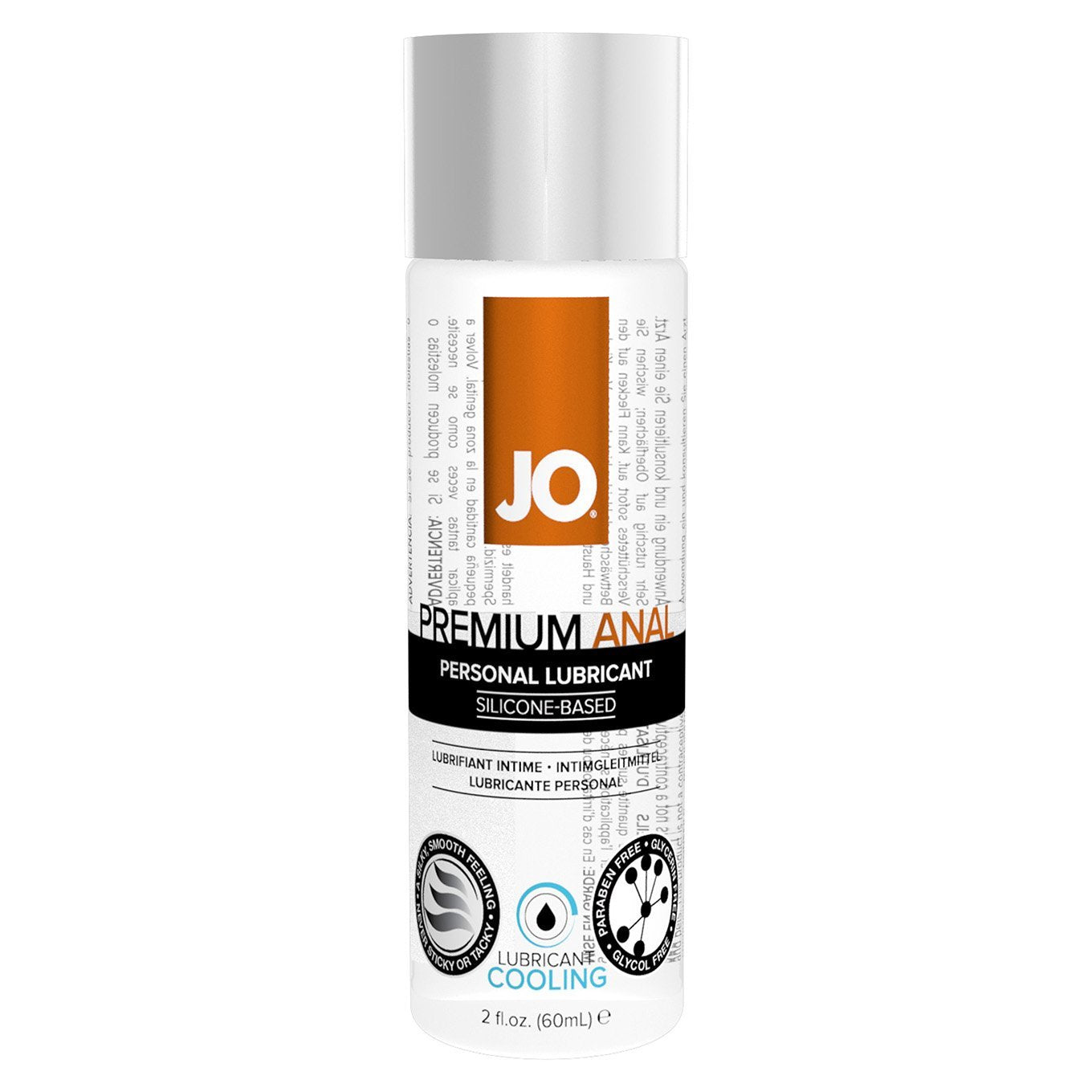 System JO - Premium Anal Silicone Lubricant 60 ml (Cooling) Lube (Silicone Based) Singapore