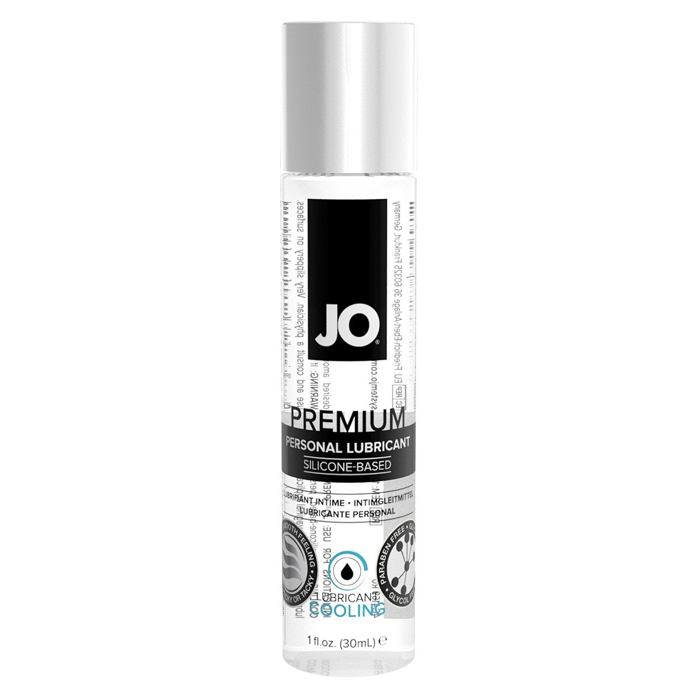 System JO - Premium Silicone Lubricant 30 ml (Cooling) Lube (Silicone Based) Singapore