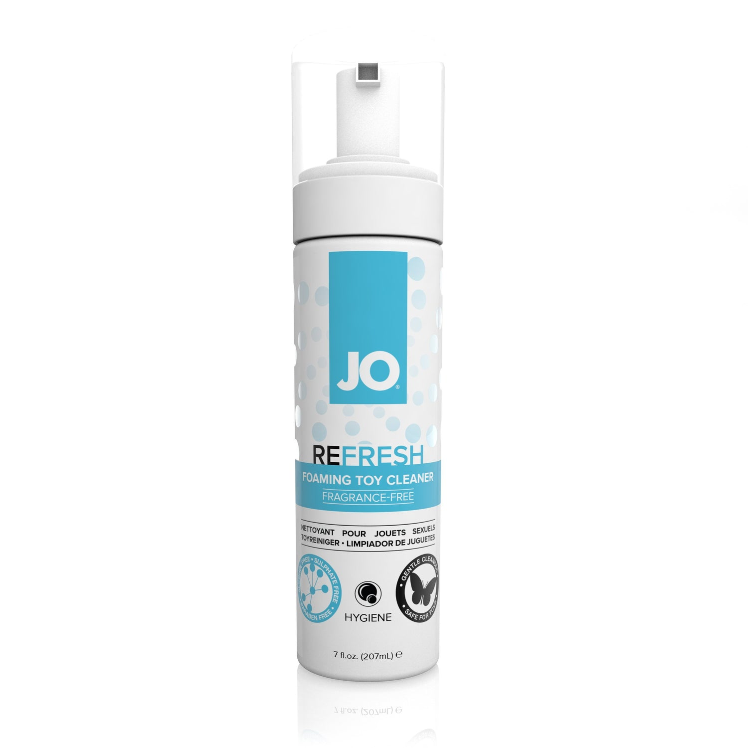 System JO - Refresh Foaming Toy Cleaner 207 ml Toy Cleaners Singapore
