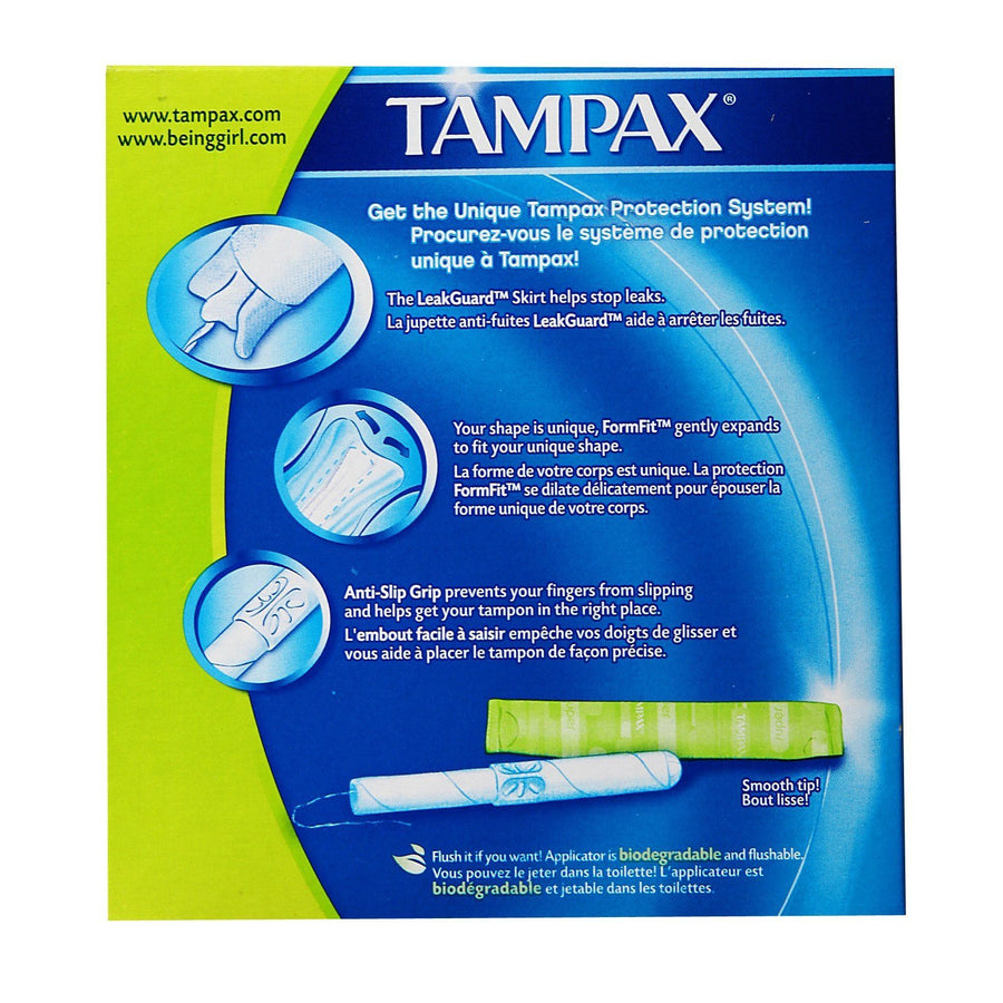 Tampax - Super Absorbency 20s Tampons - CherryAffairs Singapore