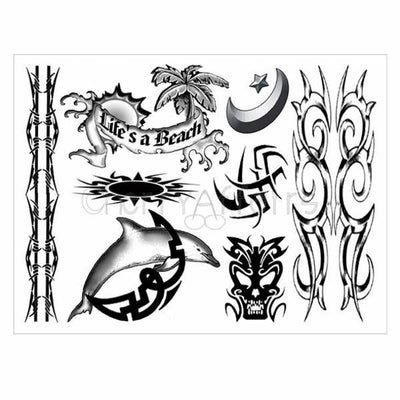 Tattoos... For Guys Tattoo Set Tattoo - CherryAffairs Singapore