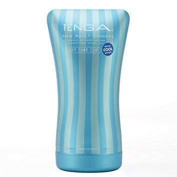 Tenga - Soft Tube Cup Masturbator (Cool Edition) Masturbator Non Reusable Cup (Non Vibration) Singapore