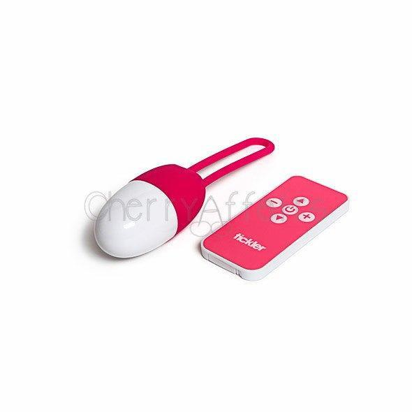 Tickler Vibes - Peggy Toyfriend Vibrating Egg Wireless Remote Control Egg (Vibration) Rechargeable - CherryAffairs Singapore