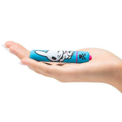 Tokidoki - Honey Bunny Mini Bullet Vibrator (Blue) Bullet (Vibration) Non Rechargeable - CherryAffairs Singapore