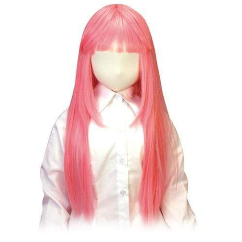 Tokyo Libido - Air Usahane Long Pink Hair Wig Love Doll Accessory (Pink) Accessories 4582167500464 CherryAffairs